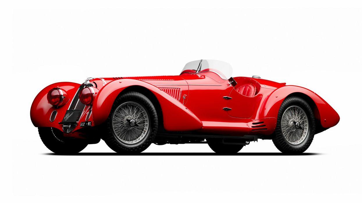 Alfa Romeo 8C 2900 Mille Miglia Spider 1939 wallpaper
