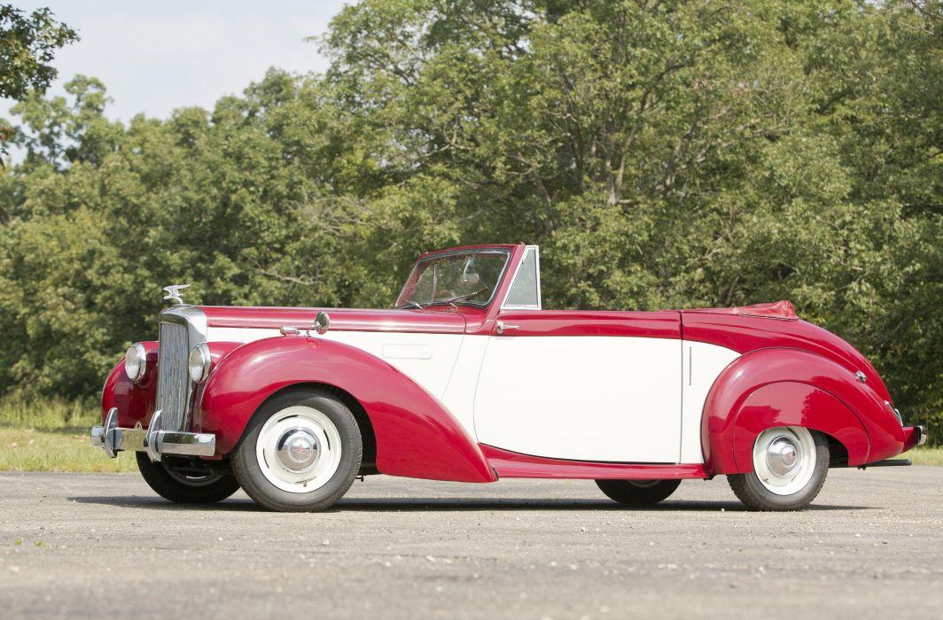 Alvis TA21 Drophead Coupe Tickford 1952 wallpaper