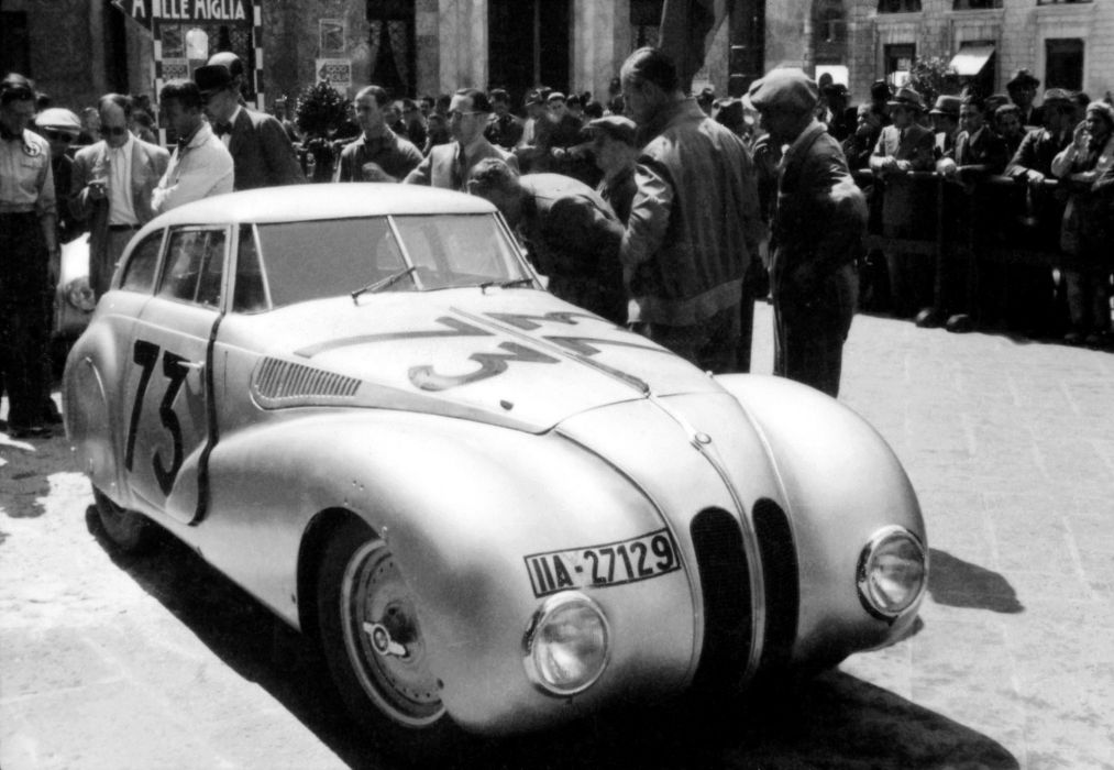 BMW 328 Kamm Coupe Mille Miglia 1940 wallpaper