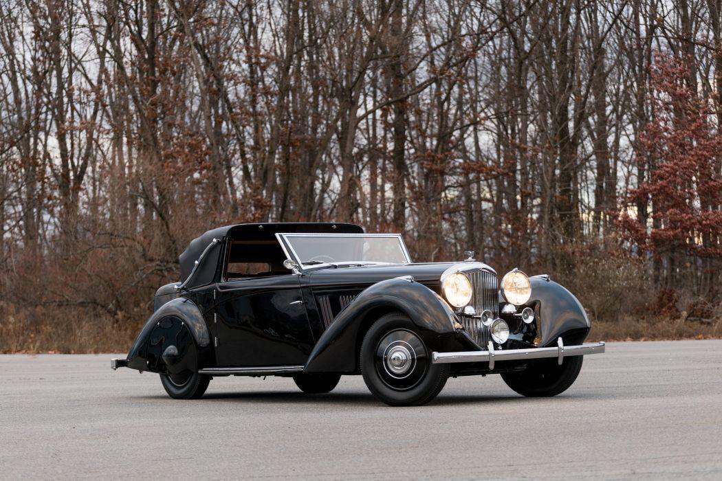 Bentley 3 5 Litre Sedanca Coupe Windovers 1936 wallpaper