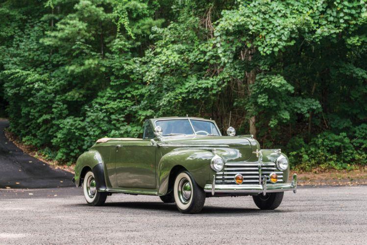 Chrysler New Yorker Convertible Coupe 1941 wallpaper