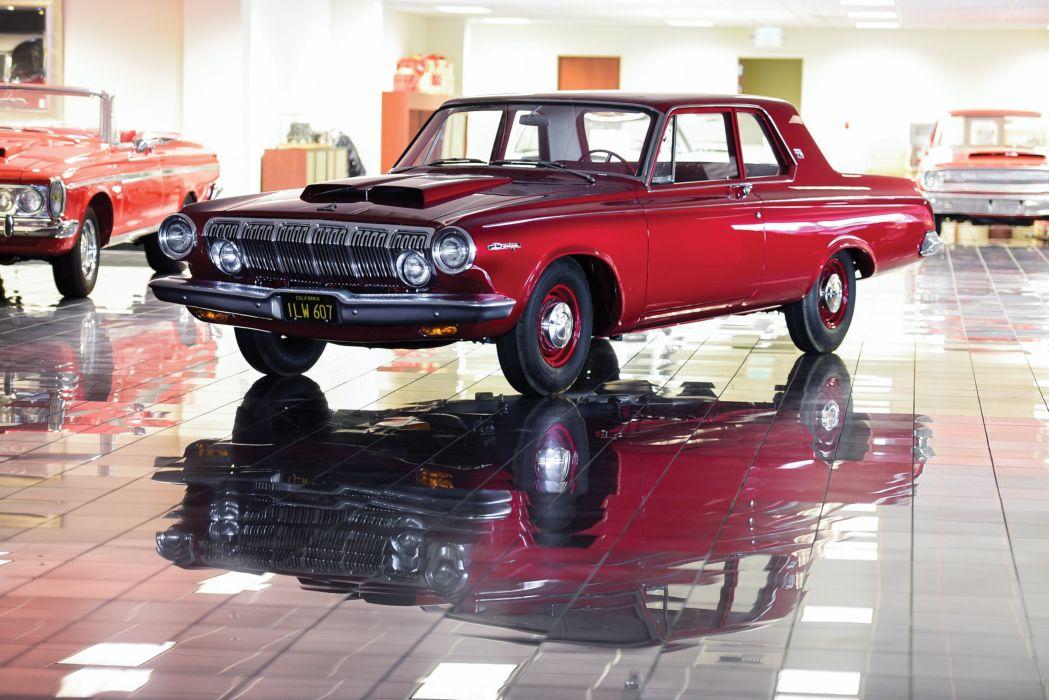 Dodge 330 2-door Sedan Factory Lightweight 1963 wallpaper