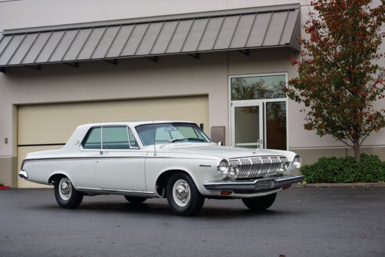 Dodge Polara 426-425 HP Max Wedge Stage II Hardtop Coupe 1963 wallpaper