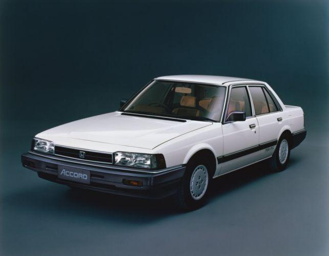 Honda Accord Saloon GTLi 1984 wallpaper