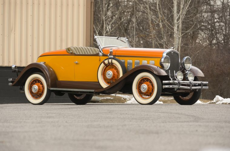 Hudson Greater Eight Sport Roadster 1931 wallpaper
