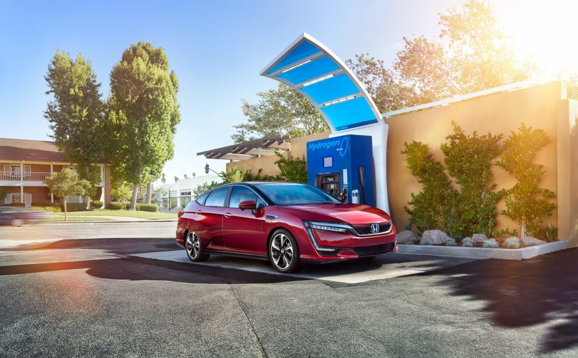 Honda Clarity Fuel Cell 2017 wallpaper