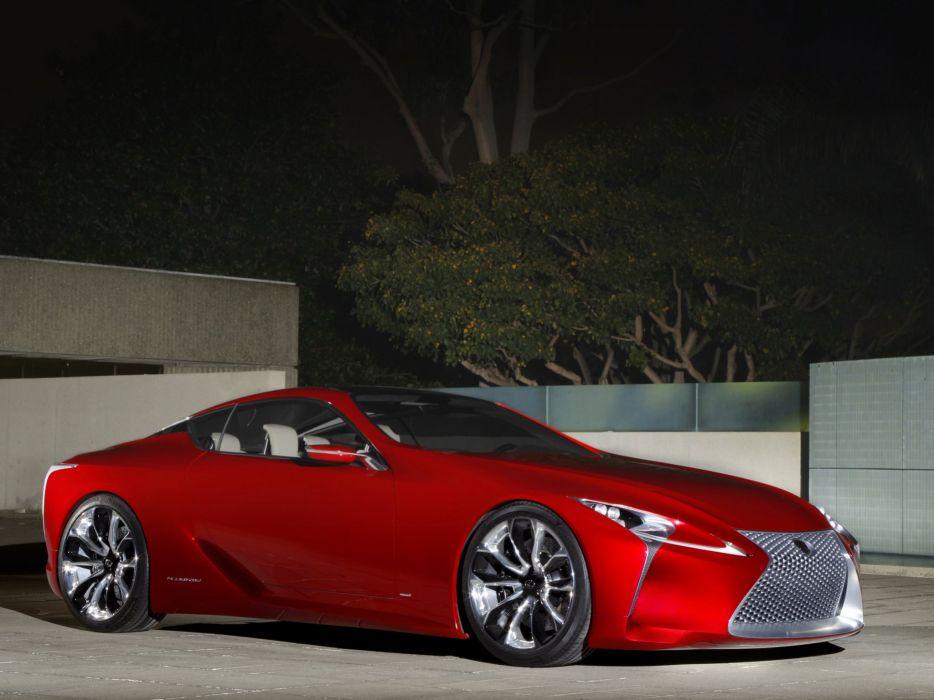 Lexus LF-LC Concept 2012 wallpaper