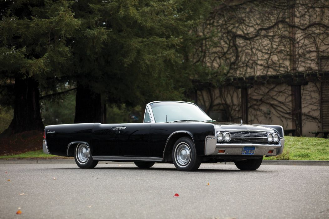 Lincoln Continental Convertible 1963 wallpaper