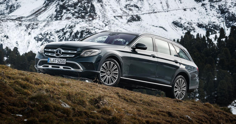 Mercedes-Benz E220 d 4MATIC All-Terrain 2016 wallpaper