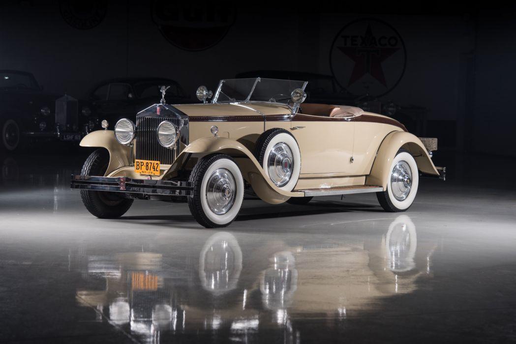 Rolls-Royce Phantom I Henley Roadster Brewster 1929 wallpaper