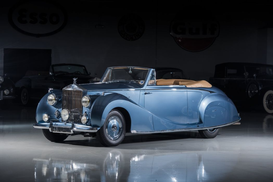 Rolls-Royce Silver Wraith Drophead Coupe Franay 1947 wallpaper