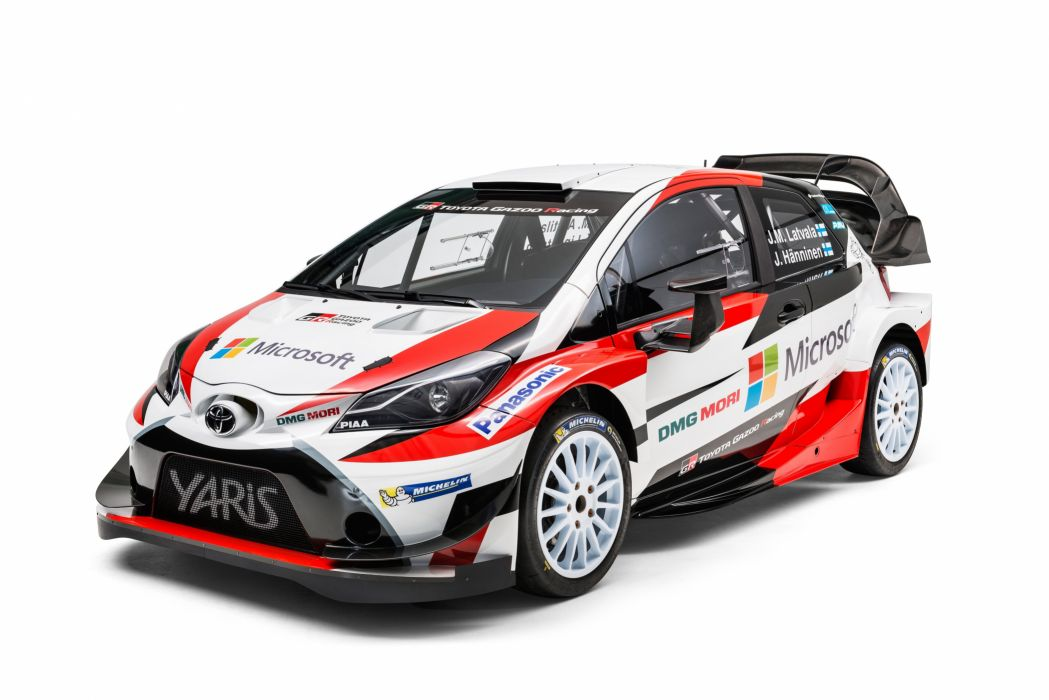 Toyota Yaris WRC 2017 wallpaper