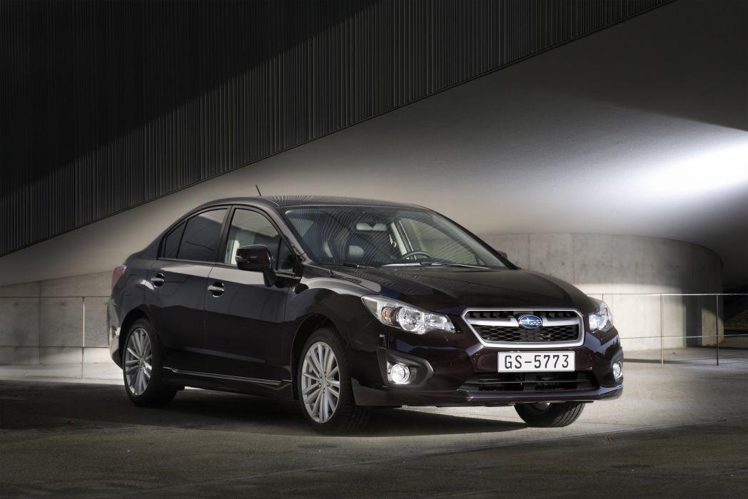 Subaru Impreza Sedan 2011 wallpaper