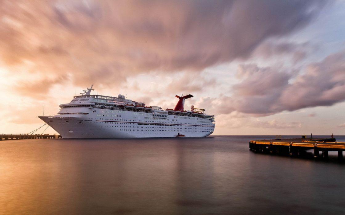 barco crucero lujo wallpaper