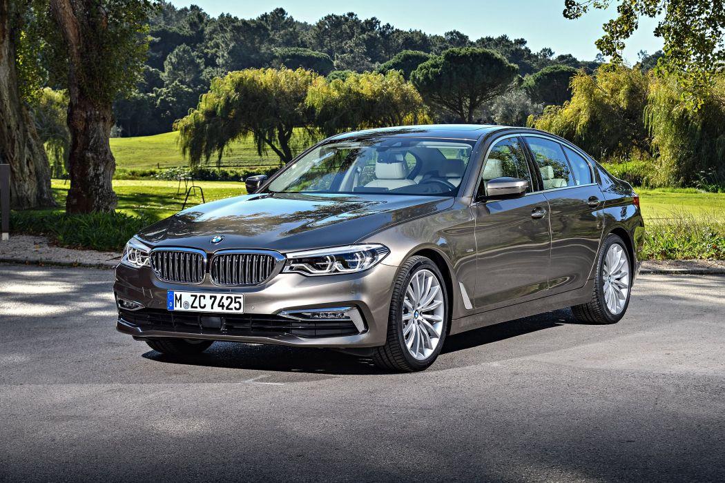 BMW 520d Sedan Luxury Line 2017 wallpaper