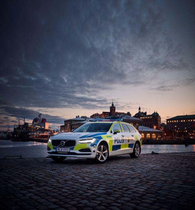 Volvo V90 Polis 2016 wallpaper