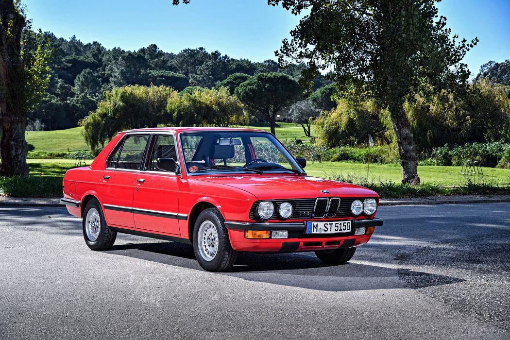 BMW 524td 1983 wallpaper