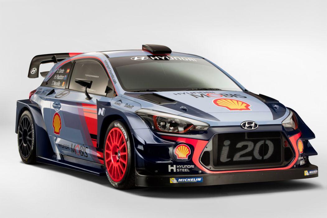 Hyundai i20 Coupe WRC 2017 wallpaper