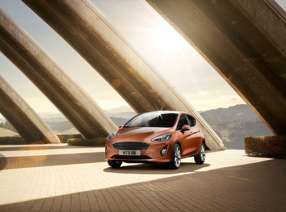 Ford Fiesta Titanium 5-door 2017 wallpaper