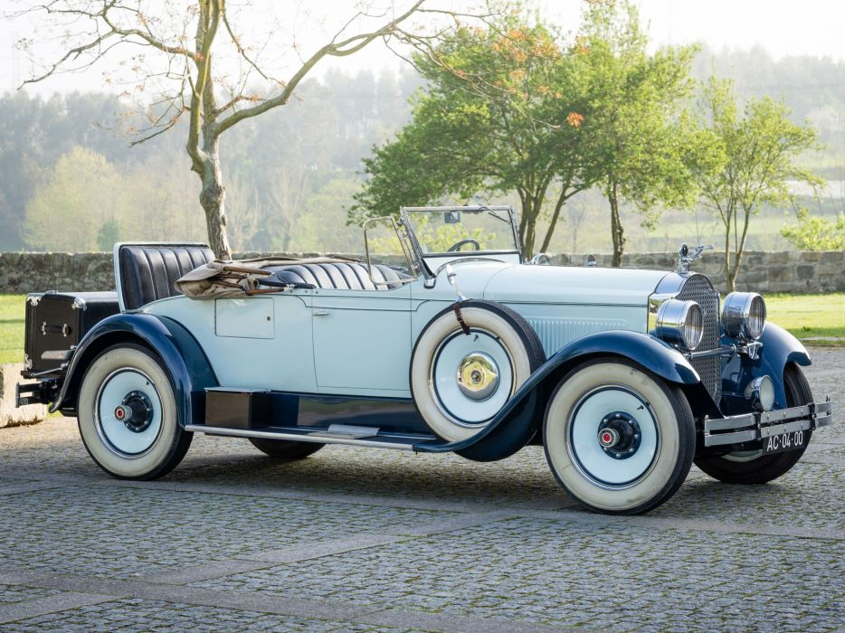 Packard Six Runabout 1928 wallpaper