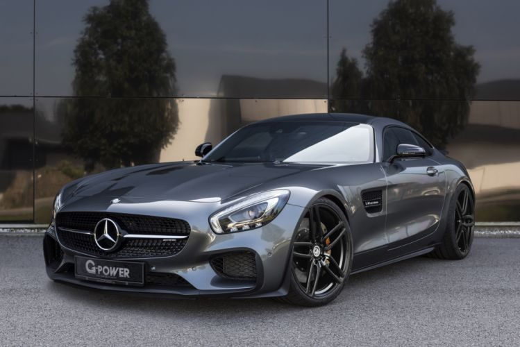 2016 g-power mercedes amg gts cars modified wallpaper