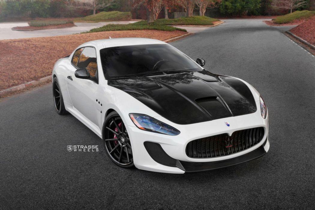 Strasse Wheels Maserati (MC) Stradale cars wallpaper