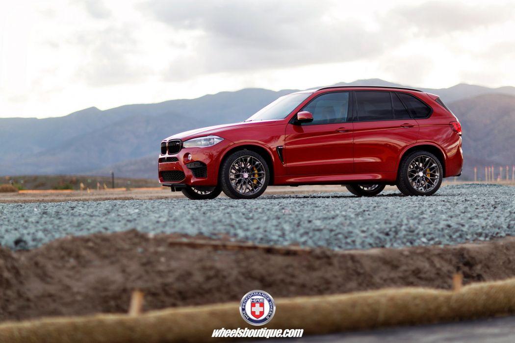 HRE wheels BMW X5M cars wallpaper
