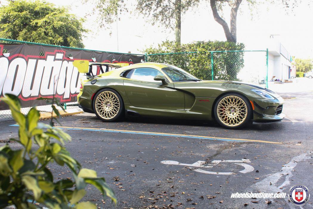 HRE wheels Dodge Viper ACR cars wallpaper