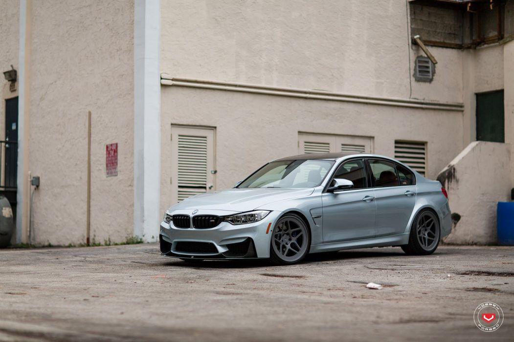 BMW F80 (M3) vossen wheels wallpaper