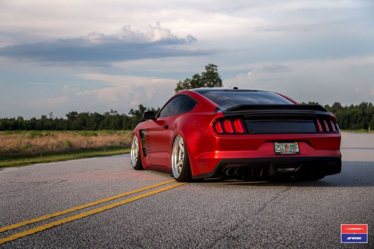 Ford Mustang cars vossen wheels wallpaper
