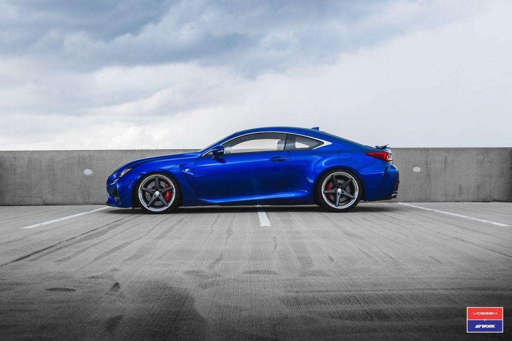 Lexus RCF cars vossen wheels wallpaper
