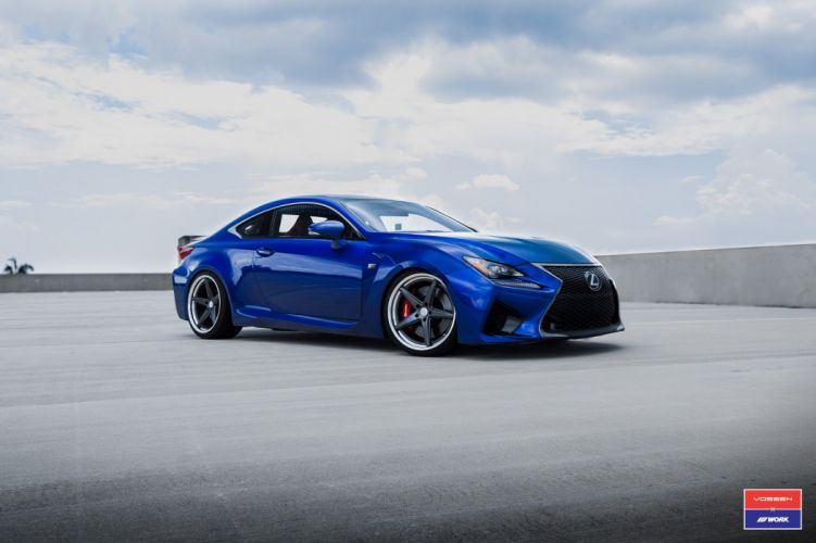 Lexus RCF cars vossen wheels wallpaper