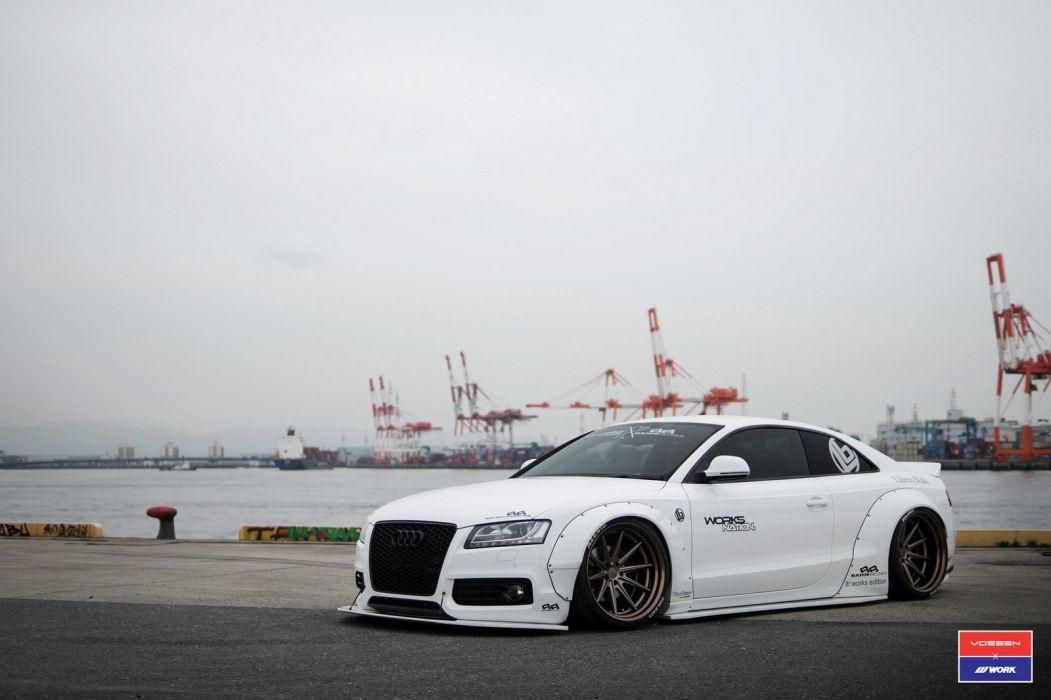 Audi (S5) body kit cars vossen wheels wallpaper