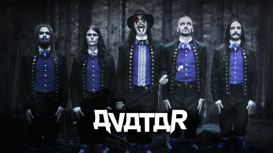 Avatar Metal Band Wallpaper 1920x1080 wallpaper
