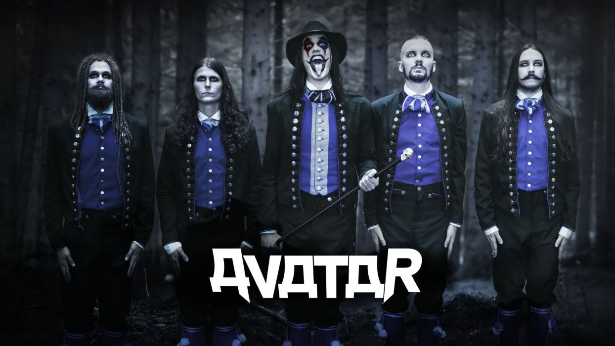 Avatar Metal Band Wallpaper 1920x1080