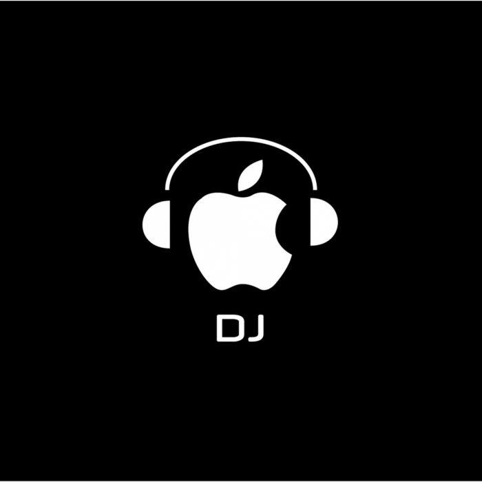 Apple DJ wallpaper