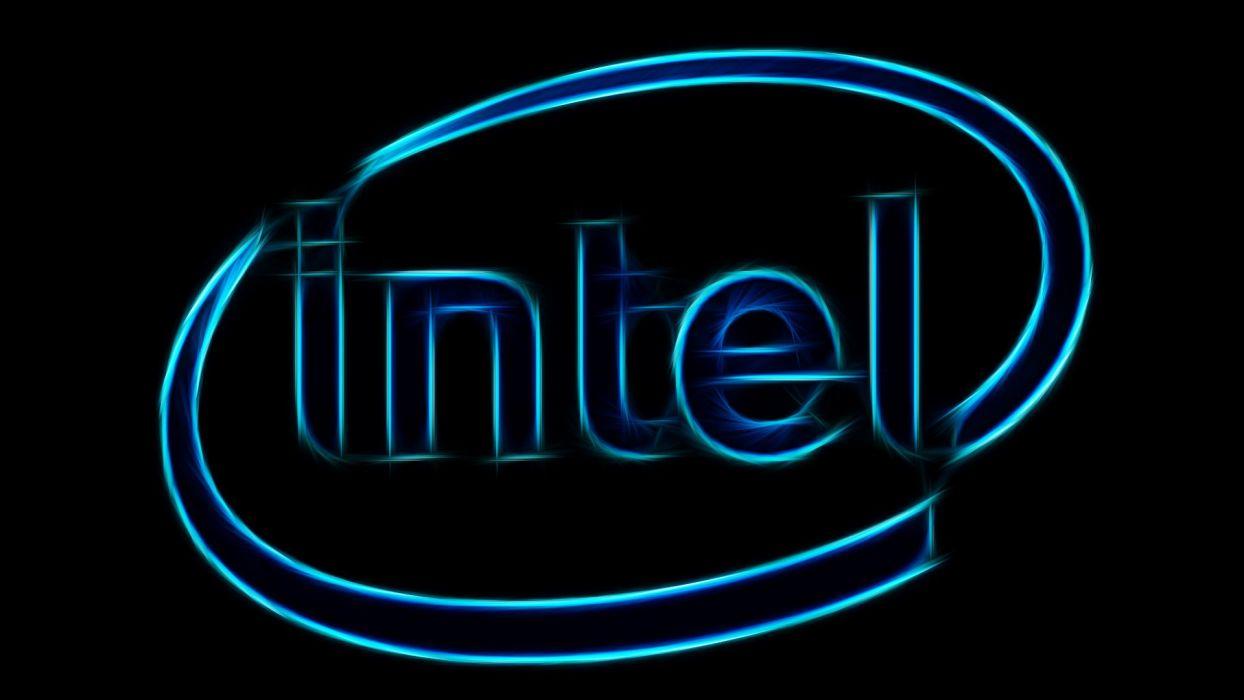 Logo Intel wallpaper