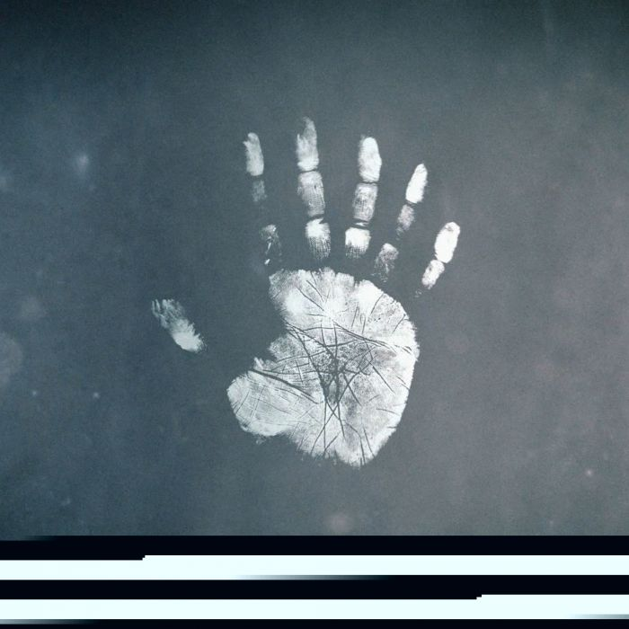 Handprint wallpaper