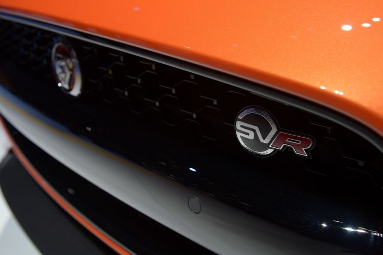 Jaguar F Type SVR wallpaper
