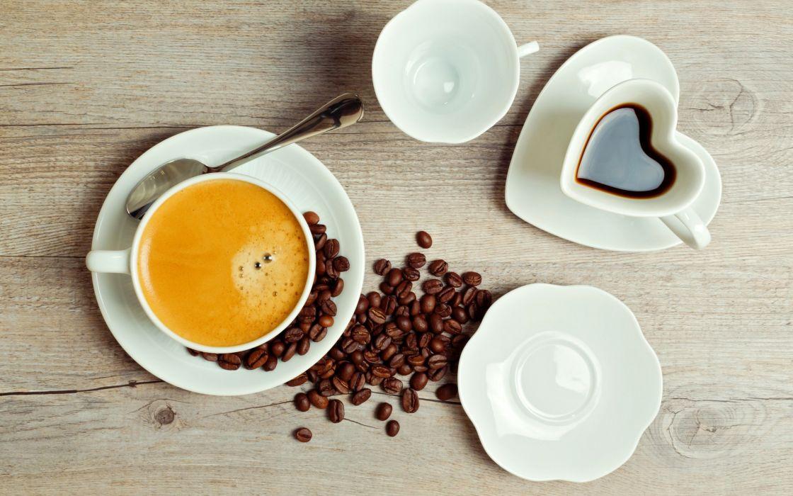 Table On Foam Coffee Cup wallpaper