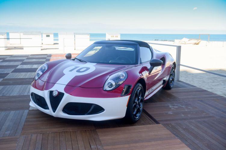 Alfa Romeo 4C Spider Edizione Corsa 2016 wallpaper