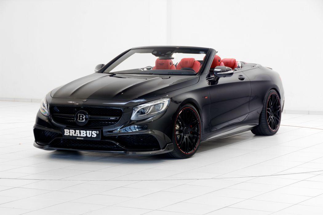 Brabus 850 Cabriolet 2016 wallpaper
