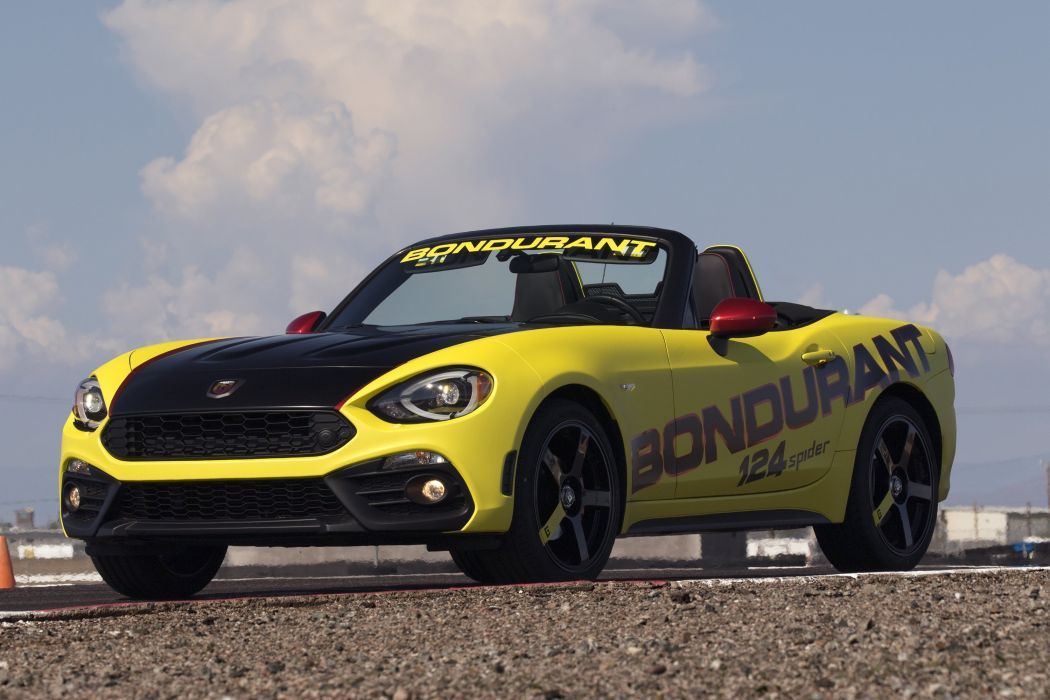 Fiat 124 Spider Abarth For Bob Bondurant School Of High Performance Driving 2017 wallpaper