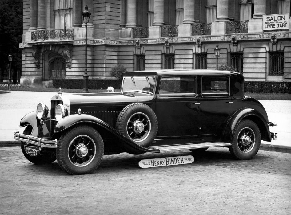 Delage D8 Berline Par Binder 1930 wallpaper