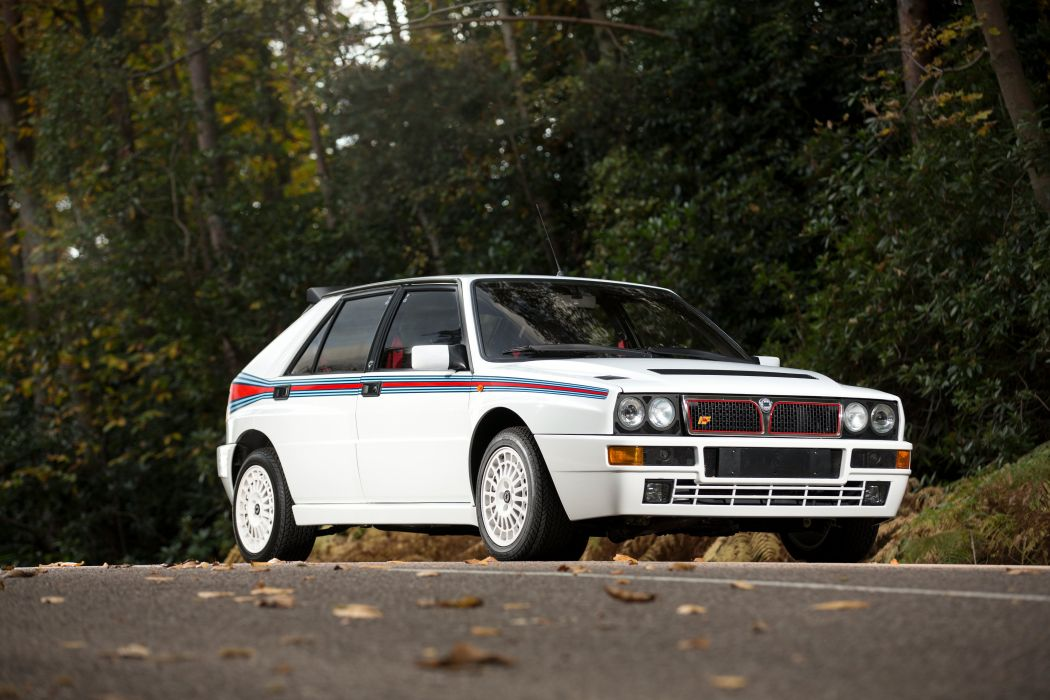 Lancia Delta HF Integrale Evoluzione Martini 5 1992 wallpaper