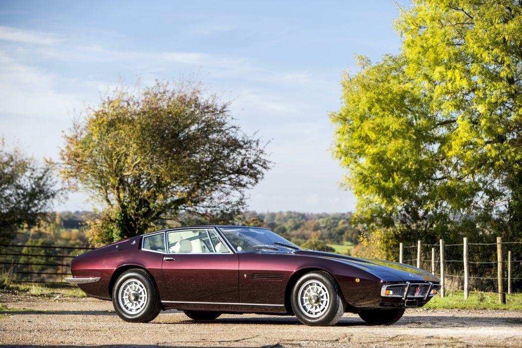 Maserati Ghibli SS 1970 wallpaper