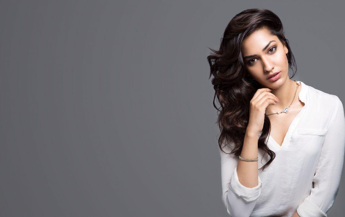 jhataleka malhotra bollywood actress model girl beautiful brunette pretty cute beauty sexy hot pose face eyes hair lips smile figure indian  wallpaper