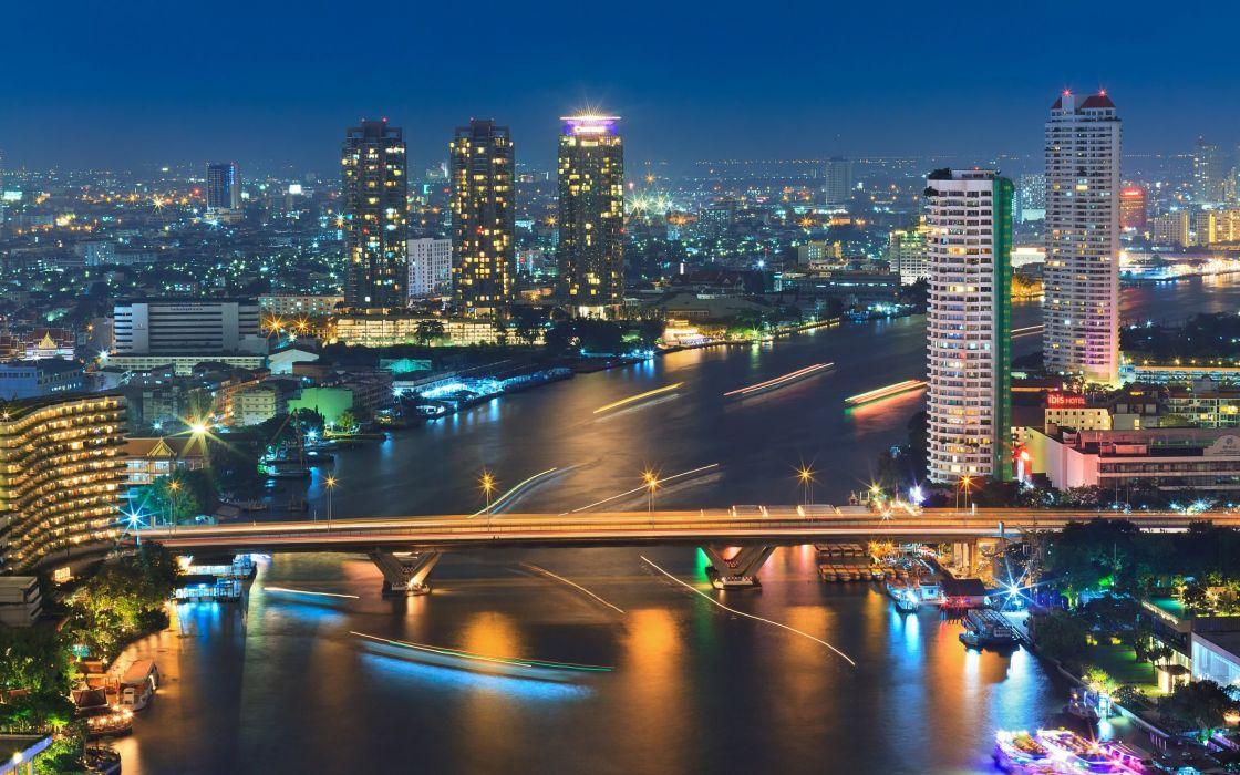 Bangkok Tailandia asia ciudad wallpaper