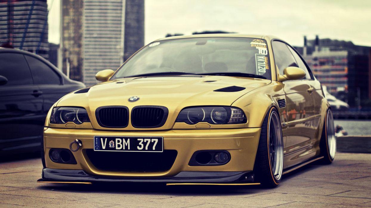 E46 BMW  wallpaper