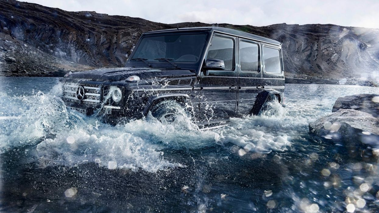 MB Gclass Offroad wallpaper